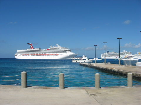 Two sides of Grand Cayman