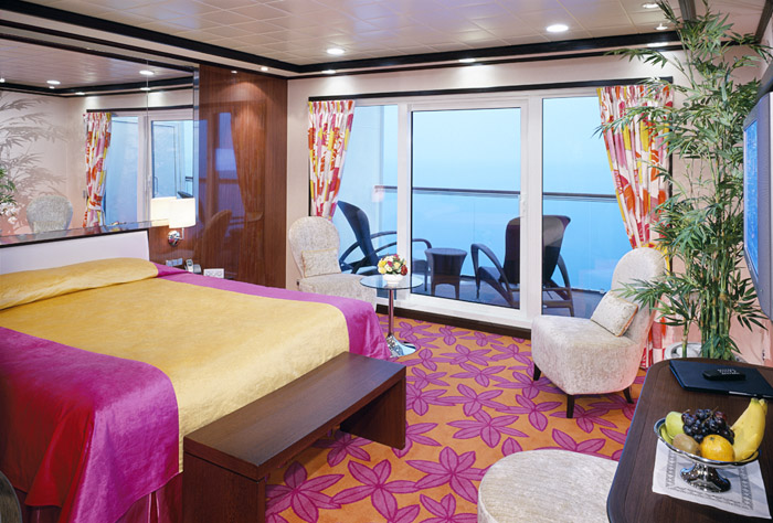At your service choosing a cabin smartertravel for Cruise balcony vs suite