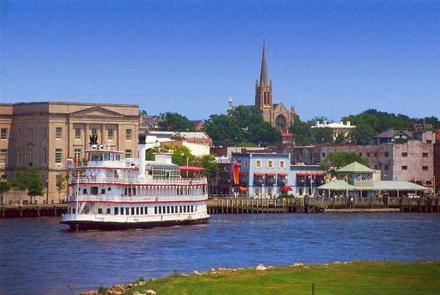 Riverfront history in Wilmington, North Carolina