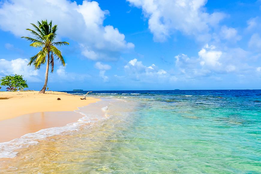 beach in panama.