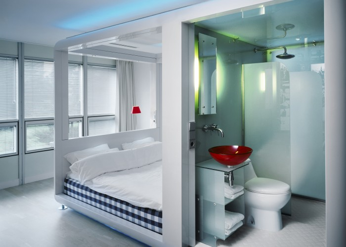 Modular hotels: Tiny space, big experience, low price