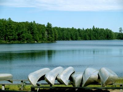 Classic Adirondack serenity in Saranac Lake, NY