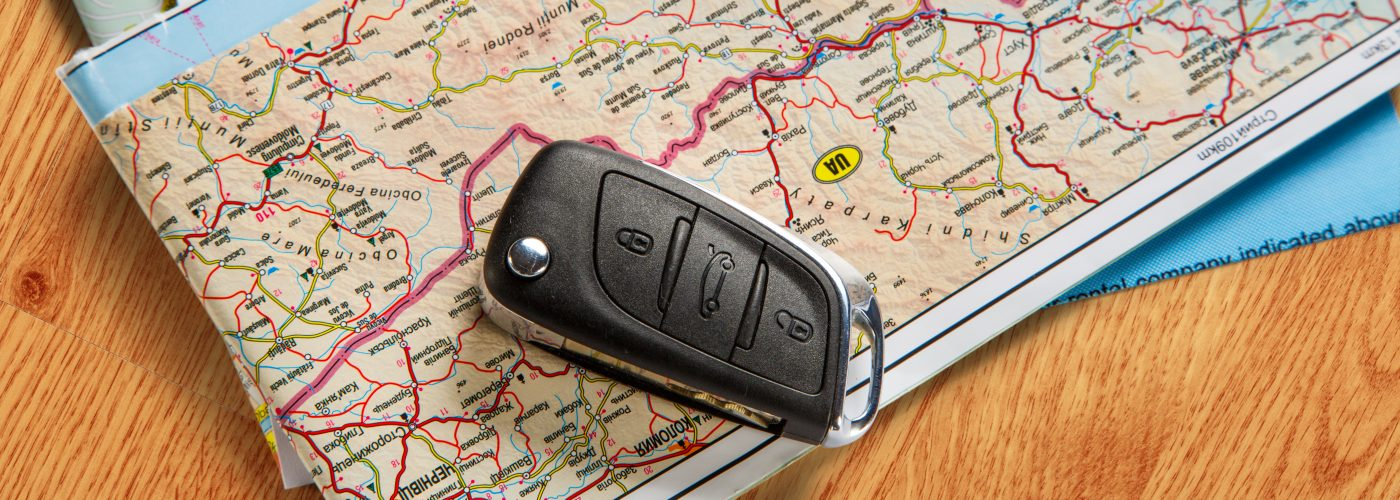 Map Car Keys