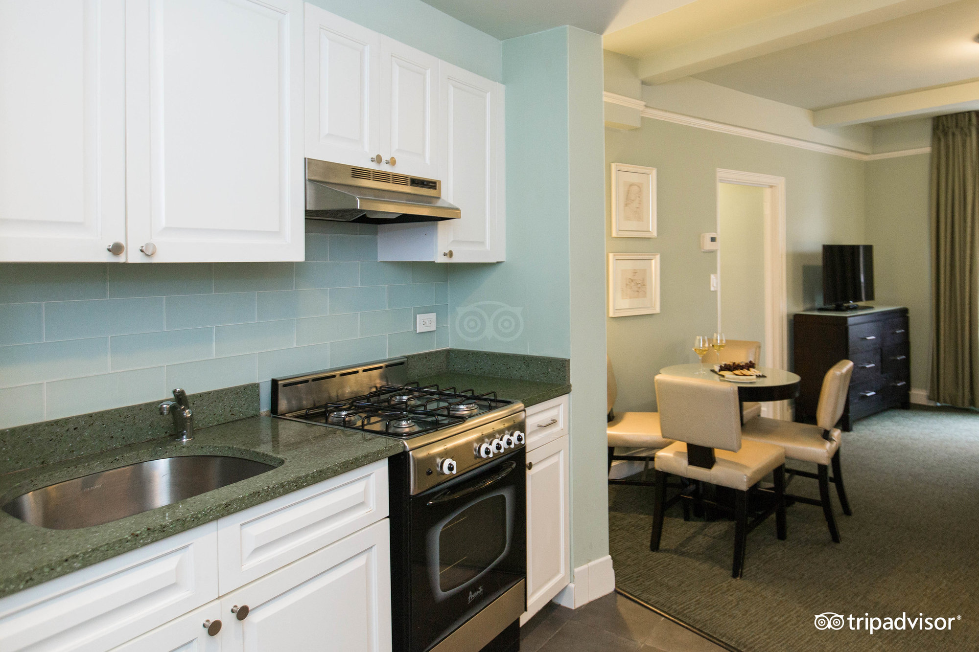 Book hotels with kitchenettes for extra