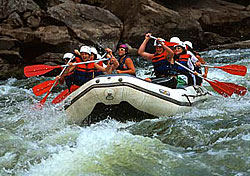 Wilderness adventures on West Virginia's New River