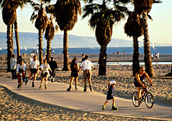 Catch a wave, get some rays, and hit the boardwalk in Santa Monica