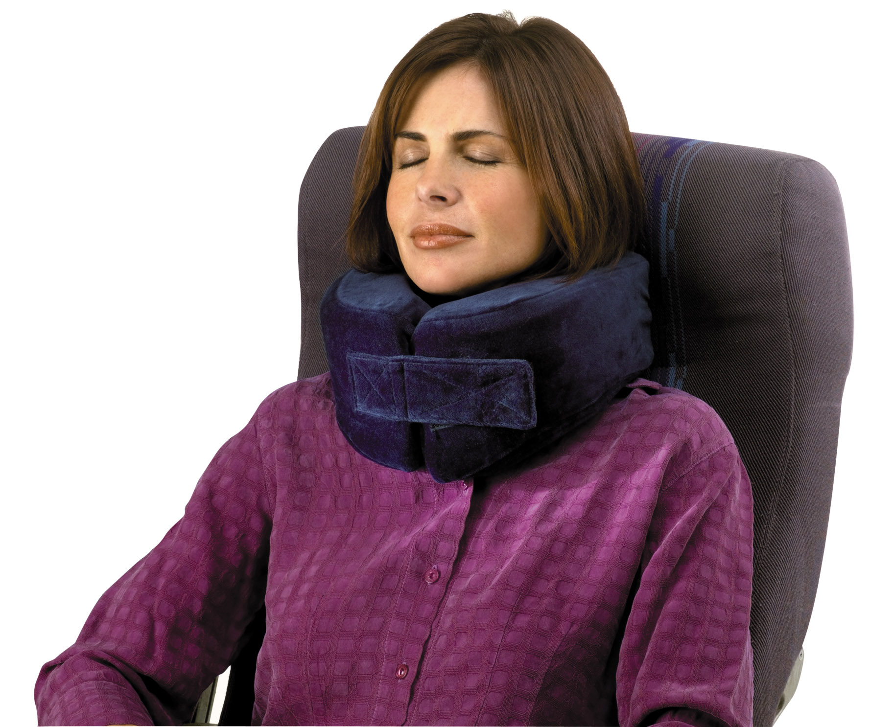 singapore neck blue travel gifts airplane massage corporate pillow product