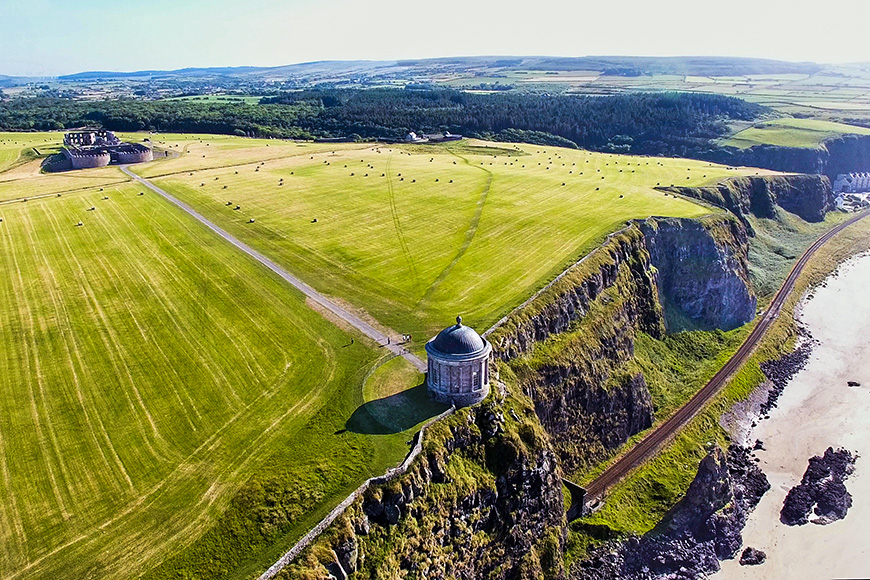 Mussenden Temple and Downhill Demesne Coleraine Co. Derry Northe