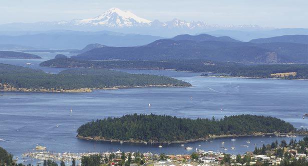 The San Juan Islands, Washington