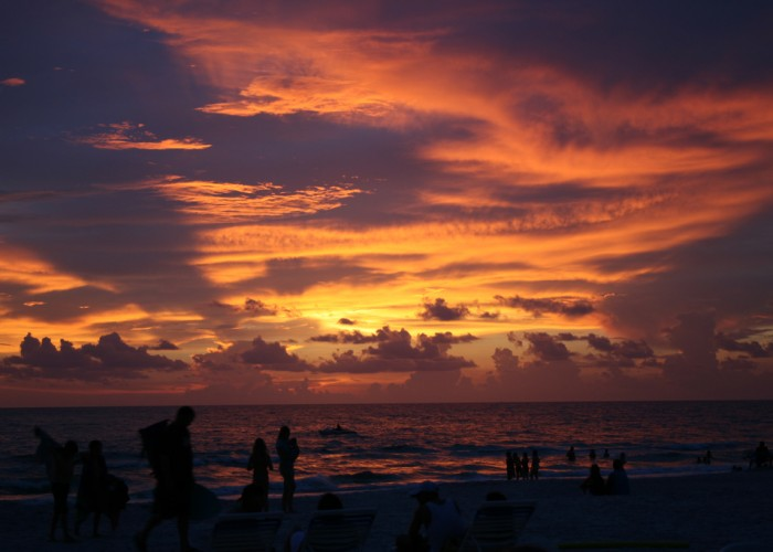Best Beach Town for Sunsets: Treasure Island, Florida