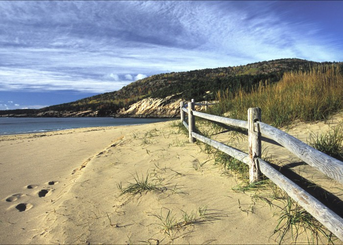 Best Beach Town For Cycling: Bar Harbor, Maine