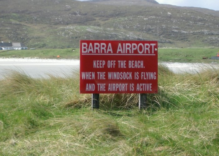Barra Airport, Barra, Scotland
