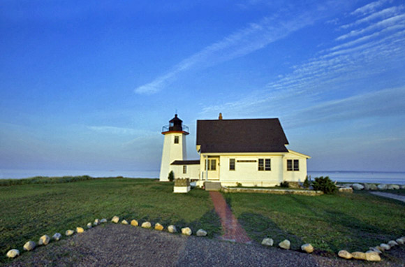 Wings Neck Lighthouse, Pocasset, Massachusetts