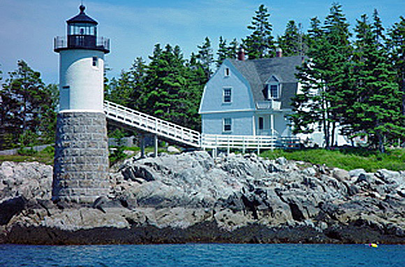 Keeper's House, Isle Au Haut, Maine