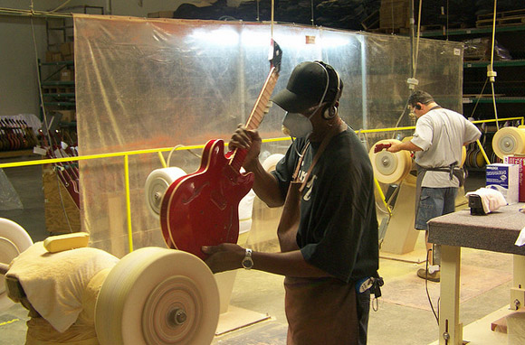 Gibson Guitars Factory, Memphis, Tennessee