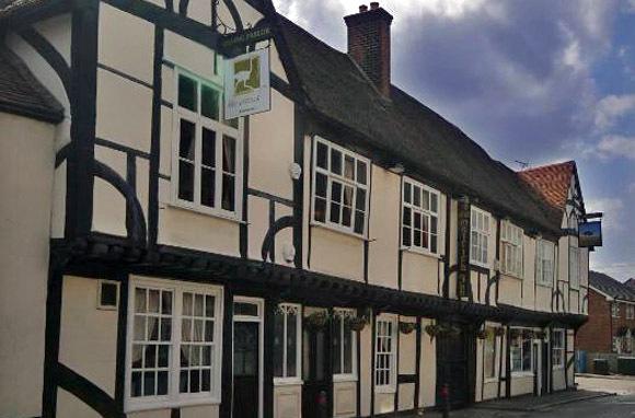 Ostrich Inn, Colnbrook, England