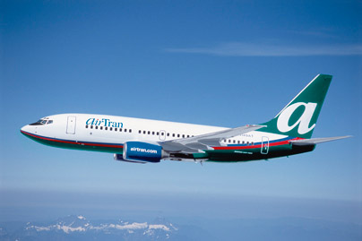 AirTran, Midwest in mileage battle over Milwaukee