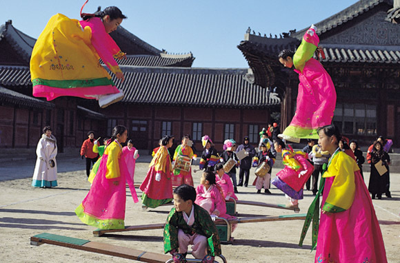 Honoring Harvest And Ancestors In Korea