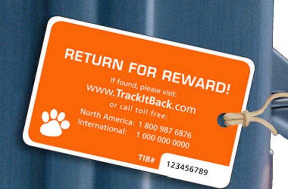 The Trackable Luggage Tag - Splurge