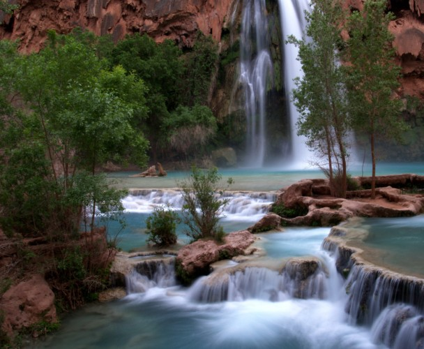 Daily Daydream: Havasu Falls, Grand Canyon, Arizona