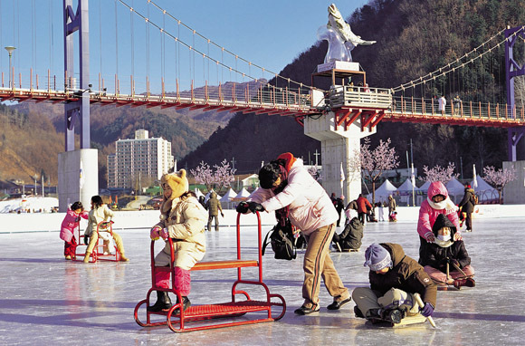 Hwacheon Sancheoneo Ice Festival (Hwacheon, Gangwon-do, South Korea)