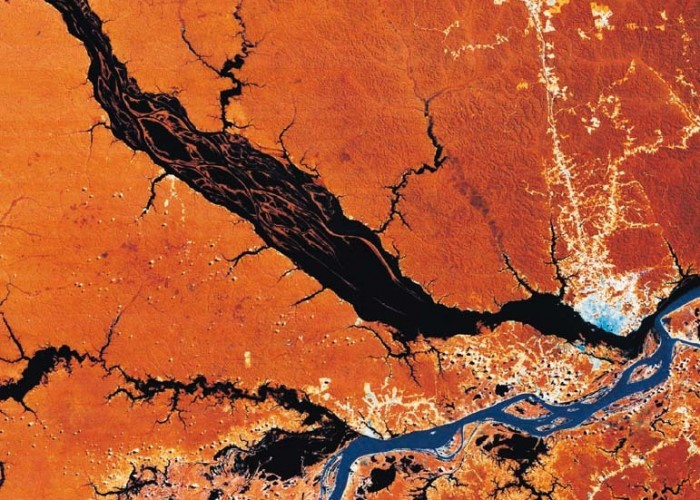 Daily Daydream: Meeting of the Rivers, Brazil
