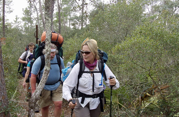 Hiking Florida's National Scenic Trail