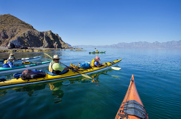 Sea Of Cortez Family Base Camp Kayak Trip (Sea Kayak Adventures)