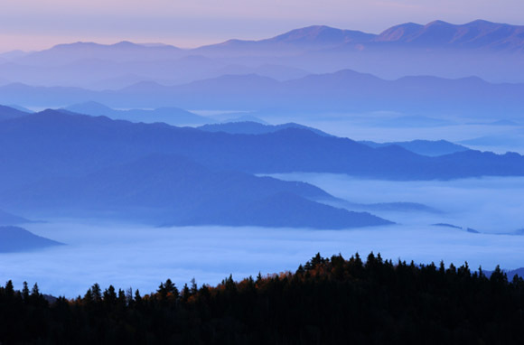 Great Smoky Mountains National Park, North Carolina And Tennessee