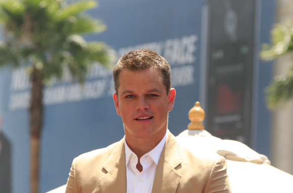 Matt Damon Brings Water and Play to Africa