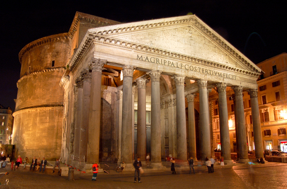 The Pantheon, Historic Center Of Rome