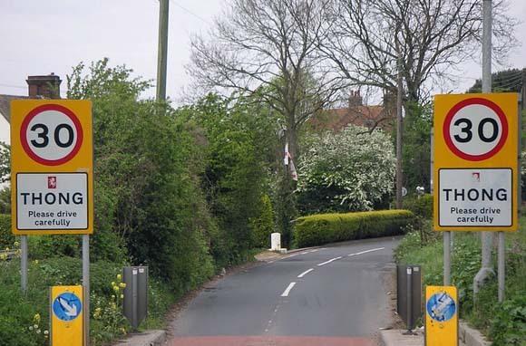 Thong, England