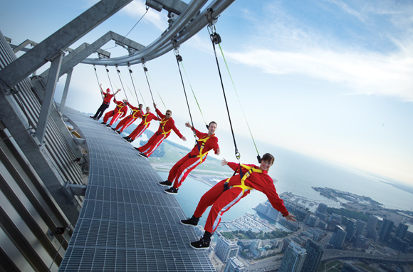 CN Tower's EdgeWalk, Toronto, Canada