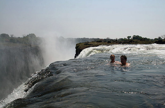 Devil's Pool at Victoria Falls, Zambia