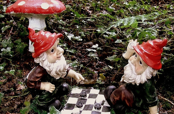The Gnome Reserve, Devon, England
