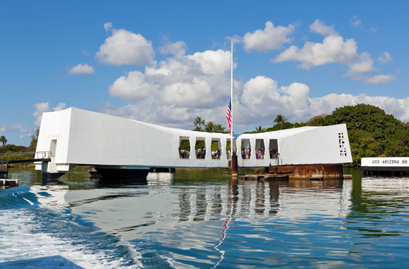 USS 'Arizona' Memorial, Honolulu