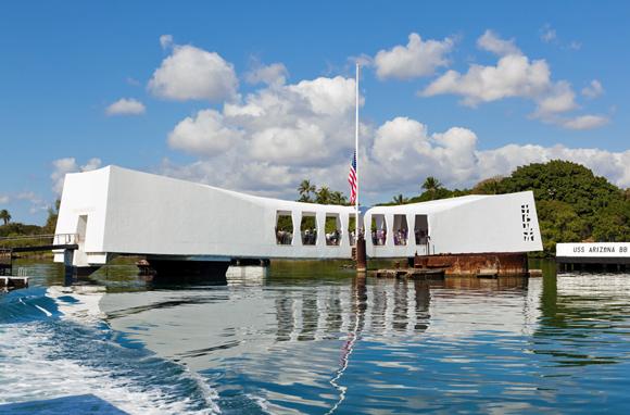 USS 'Arizona' Memorial, Honolulu
