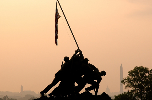United States Marine Corps War Memorial, Arlington
