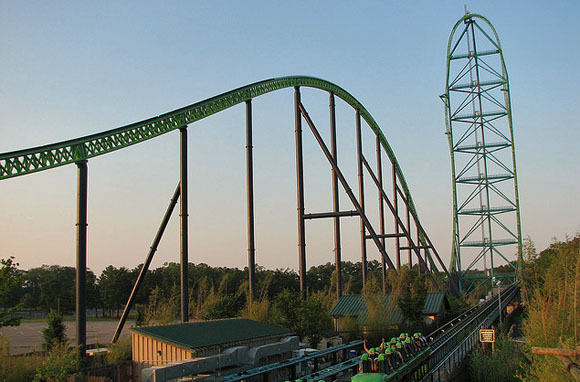 World's Tallest Roller Coaster: Kingda Ka, New Jersey