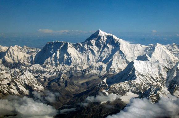 World's Tallest Mountain: Mount Everest, Nepal/China