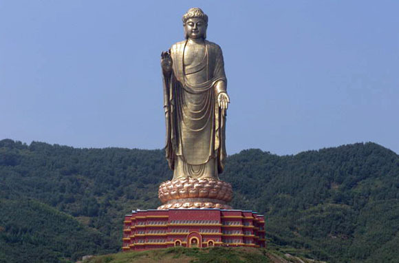 World's Tallest Statue: Spring Temple Buddha, China