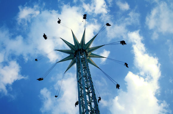 Tallest Swing Carousel: Prater Tower, Austria