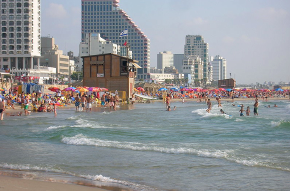 Gordon-Frishman Beach, Tel Aviv