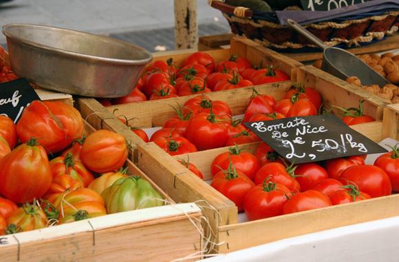 Cours Saleya (Marche aux Fleurs), Nice, France