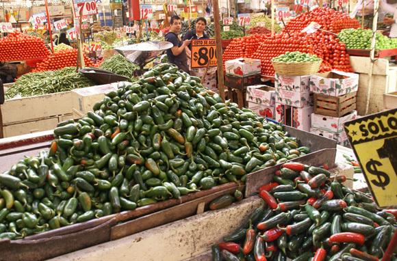 Mercado de la Merced, Mexico City, Mexico