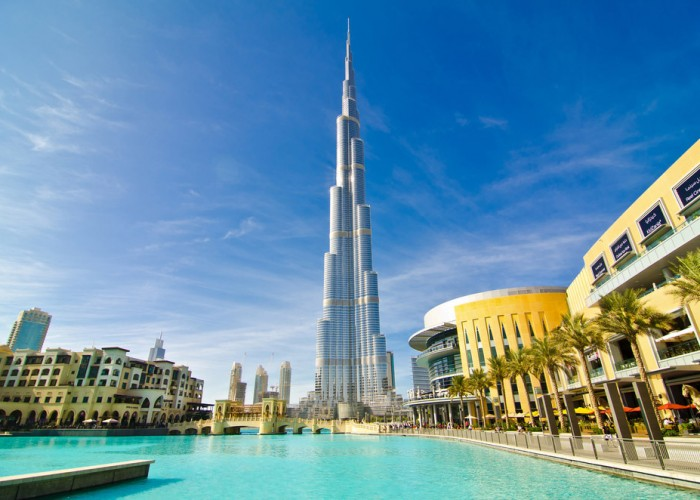 Winding Up at the World's Tallest Building: Joan Trip Part VI