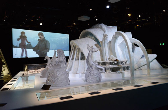 James Bond 50th Anniversary Exhibit