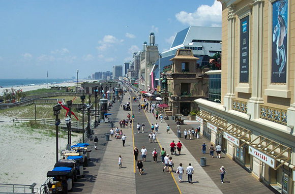 Atlantic City Boardwalk, New Jersey