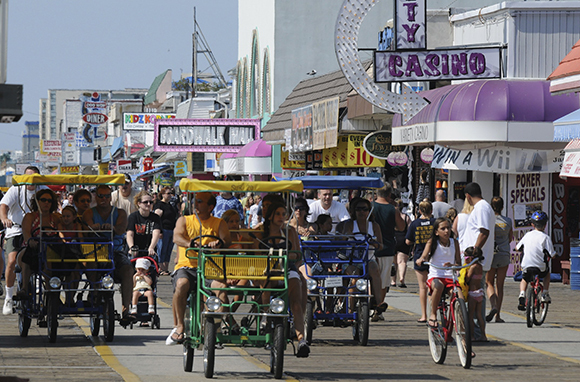 Wildwood Boardwalk, New Jersey