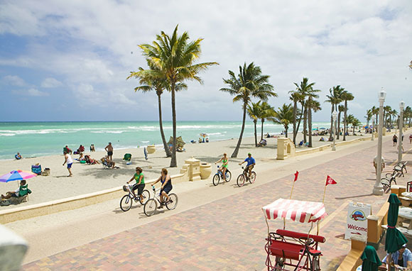 Hollywood Beach Broadwalk Florida